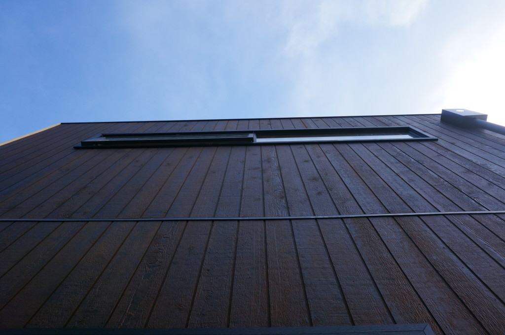 Weathertex cladding_blue sky